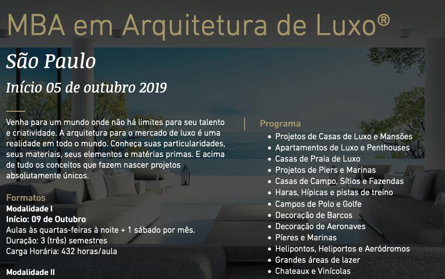 Arquitetura de Luxo 2